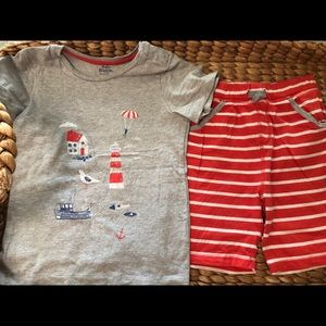 EUC Baby Boden 3-4Y Outfit